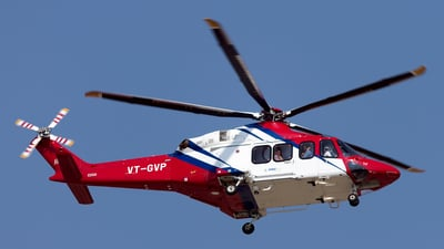 VT-GVP - Agusta-Westland AW-139 - Global Vectra Helicorp