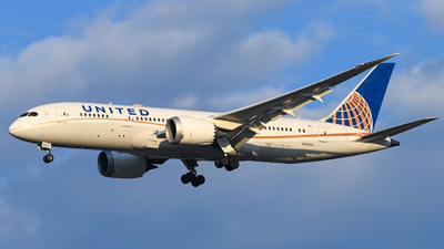N30913 - Boeing 787-8 Dreamliner - United Airlines