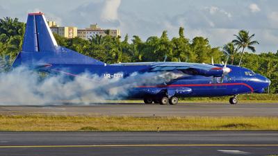 UR-CGV - Antonov An-12BK - Meridian Aviation