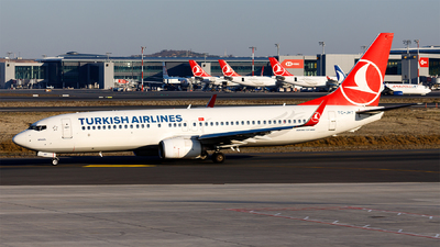 A picture of TCJHT - Boeing 7378F2 - Turkish Airlines - © Ömür Sadikoglu
