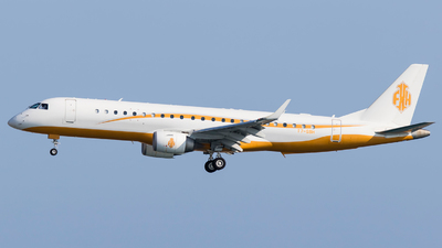 T7-SBH - Embraer 190 Lineage 1000 - Private