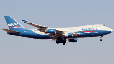 A picture of 4KSW800 - Boeing 7474R7(F) - Silk Way West Airlines - © Snake_ZSAM