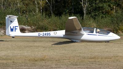 D-2495 - Schleicher ASK-21 - Handflight.be