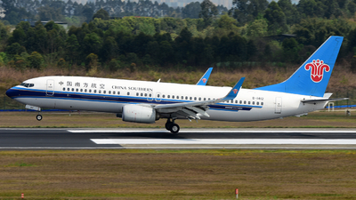 B-1412 - Boeing 737-81B - China Southern Airlines