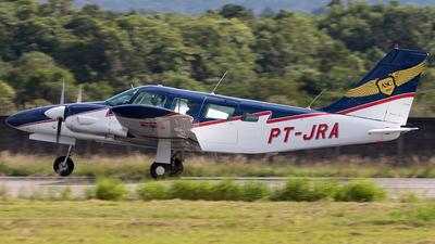 PT-JRA - Piper PA-34-200 Seneca - Aeroclube de Santa Catarina