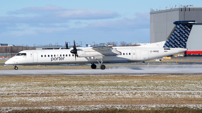 C-GKQC - Bombardier Dash 8-Q402 - Porter Airlines
