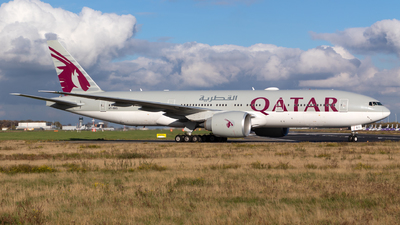 A picture of A7BBG - Boeing 7772DZ(LR) - Qatar Airways - © Jesse Vervoort