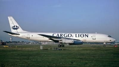 LX-TLA - Douglas DC-8-62(CF) - Cargo Lion