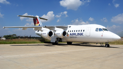 ZS-SSI - British Aerospace Avro RJ85 - Airlink