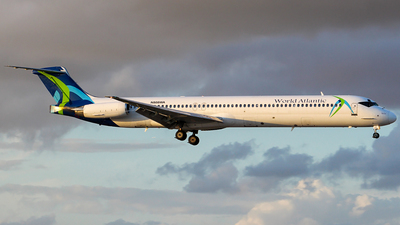 N808WA - McDonnell Douglas MD-83 - World Atlantic Airlines
