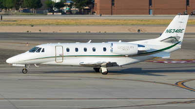 N634BE - Cessna 560XL Citation XLS+ - Private