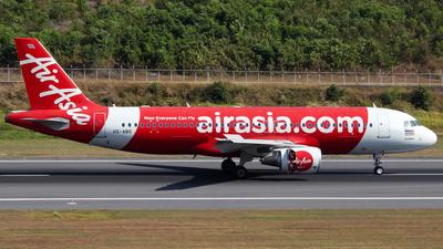 A picture of HSABO - Airbus A320216 - AirAsia - © Azimi Iahra