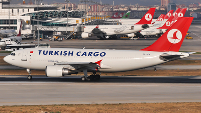 TC-JCV - Airbus A310-304(F) - Turkish Airlines Cargo