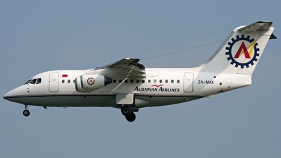 ZA-MAK - British Aerospace BAe 146-100 - Albanian Airlines