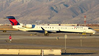 A picture of N548CA - Mitsubishi CRJ900LR - Delta Air Lines - © Michael Rodeback