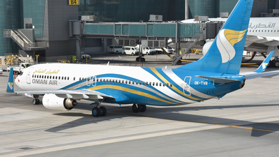 OK-TVR - Boeing 737-86N - Oman Air (Travel Service)