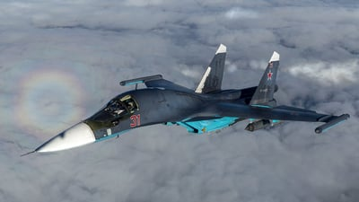 RF-96472 - Sukhoi Su-34 Fullback - Russia - Air Force