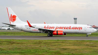 PK-LPK - Boeing 737-8GP - Lion Air