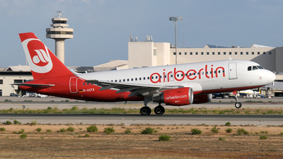 D-ASTX - Airbus A319-112 - Air Berlin