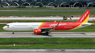 A picture of VNA697 - Airbus A321271N - VietJet Air - © photogiap