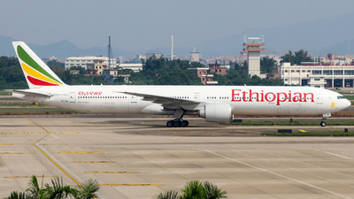 A picture of ETASK - Boeing 777360(ER) - Ethiopian Airlines - © ZRY246
