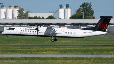 C-GGDU - Bombardier Dash 8-Q402 - Air Canada Express (Jazz Aviation)