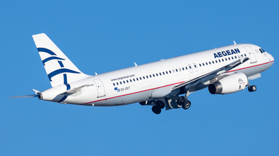 A picture of SXDVT - Airbus A320232 - Aegean Airlines - © Kostas Marmarelis