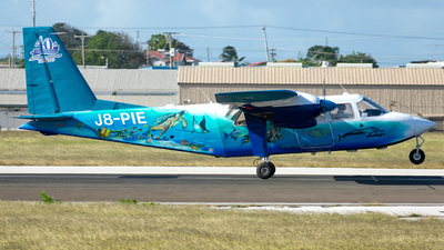 J8-PIE - Britten-Norman BN-2A-9 Islander - Mustique Airways