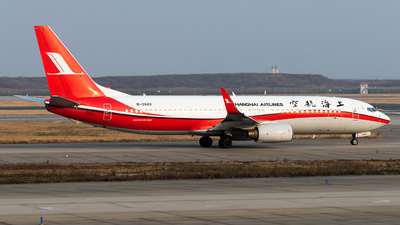 A picture of B2688 - Boeing 73786D - Shanghai Airlines - © Lazy Clutch