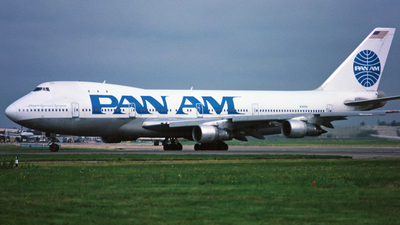 N741PA - Boeing 747-121 - Pan Am