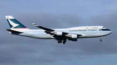 B-HKX - Boeing 747-412(BCF) - Cathay Pacific Cargo