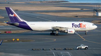 A picture of N652FE - Airbus A300F4605R - FedEx - © Aditya Saligrama