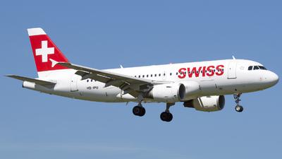 HB-IPU - Airbus A319-112 - Swiss
