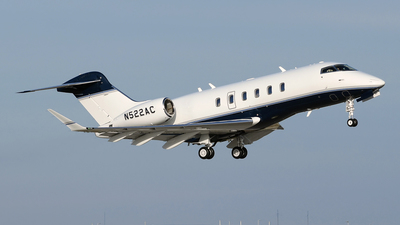 N522AC - Bombardier BD-100-1A10 Challenger 350 - Private