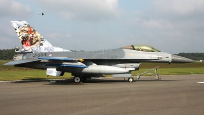 J-003 - General Dynamics F-16AM Fighting Falcon - Netherlands - Royal Air Force