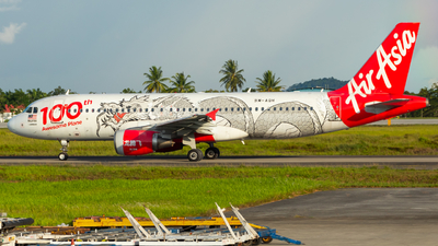 A picture of 9MAQH - Airbus A320216 - AirAsia - © JC28