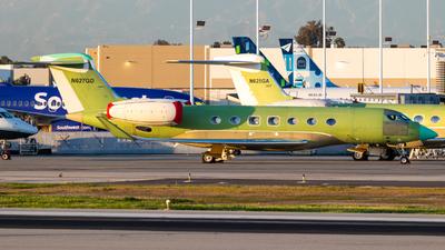 A picture of N627GD - Gulfstream G650 - [6207] - © Alex Crail