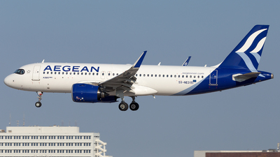 A picture of SXNEO - Airbus A320271N - Aegean Airlines - © Oksana