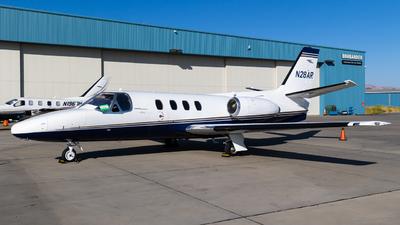 N28AR - Cessna 500 Citation I - Private