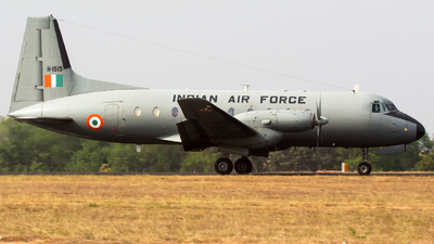 H1519 - Hindustan Aeronautics HAL-748 - India - Air Force