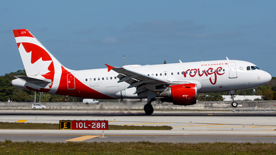 C-GBHZ - Airbus A319-114 - Air Canada Rouge