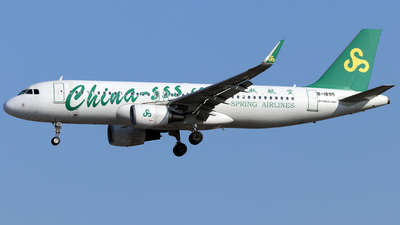 B-1895 - Airbus A320-214 - Spring Airlines