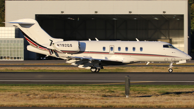 N792QS - Bombardier BD-100-1A10 Challenger 350 - NetJets Aviation