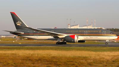 A picture of JYBAB - Boeing 7878 Dreamliner - Royal Jordanian - © Daniel Klein