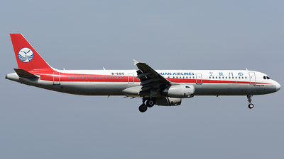 B-6810 - Airbus A321-231 - Sichuan Airlines