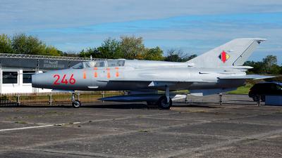246 - Mikoyan-Gurevich MiG-21US Mongol B - German Democratic Republic - Air Force