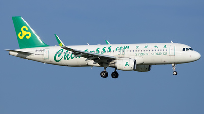 B-1896 - Airbus A320-214 - Spring Airlines