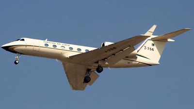 J-756 - Gulfstream G450 - Pakistan - Air Force