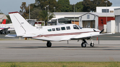 VH-AZO - Cessna 402C - Private