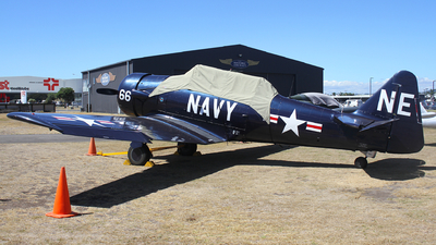 ZK-ENE - North American AT-6D Harvard III - Private